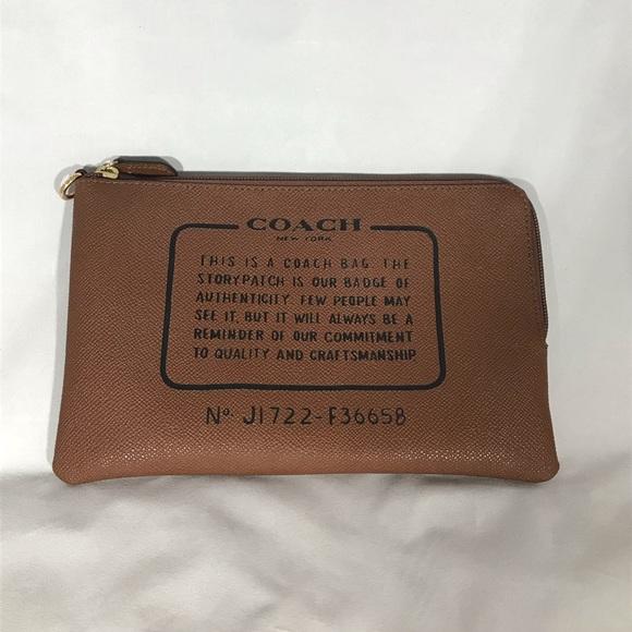 6da17a89f6 Coach Handbags - Coach Storypatch Pouch Bag